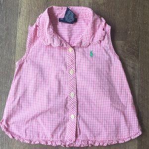 Ralph Lauren 🐎 Gingham Plaid Shirt